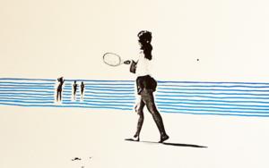 Verano. Cádiz|Obra gráficadeAna Valenciano| Compra arte en Flecha.es