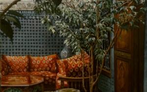 Riad  en Fez|PinturadeCarmen Nieto| Compra arte en Flecha.es
