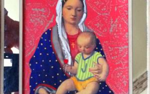 Virgen Guapa de Paloma|PinturadePaco Sánchez| Compra arte en Flecha.es