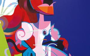 Isabel sentada|PinturadeJose Palacios| Compra arte en Flecha.es