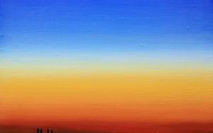 Anochecer PinturadeBorja Abós  Compra arte en Flecha.es
