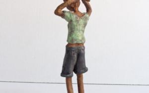 Recogerse el pelo|EsculturadeAna Valenciano| Compra arte en Flecha.es