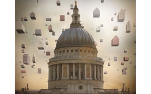 Cúpula Londres|DigitaldePaco Díaz| Compra arte en Flecha.es