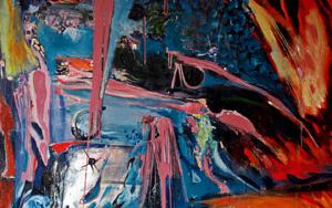 Caos Cromatico|PinturadeLika| Compra arte en Flecha.es