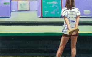 Esperando|PinturadeOrrite| Compra arte en Flecha.es
