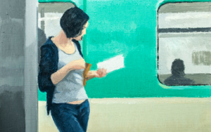 Leyendo|PinturadeOrrite| Compra arte en Flecha.es