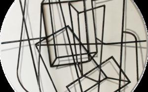 Constelación sobre blanco|Escultura de pareddeManuel Sánchez-Algora| Compra arte en Flecha.es