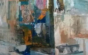 Diálogos de papel 4|PinturadeMuz Martínez| Compra arte en Flecha.es