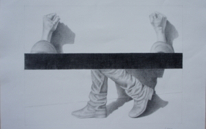 Observando 5|DibujodeSonia Alonso| Compra arte en Flecha.es