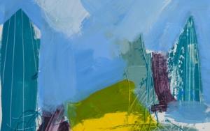 PAISAJE INTUITIVO 4|PinturadeJCuenca| Compra arte en Flecha.es