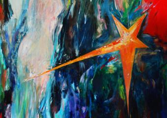 Estrella de Pompella|PinturadeLika| Compra arte en Flecha.es