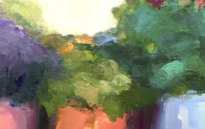 Lugares y Jardines Imaginarios VIII|PinturadeTeresa Muñoz| Compra arte en Flecha.es