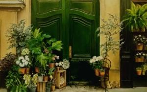 Calle en Paris|PinturadeCarmen Nieto| Compra arte en Flecha.es