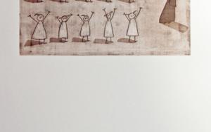 Clase de gimnasia|Obra gráficadeAna Valenciano| Compra arte en Flecha.es