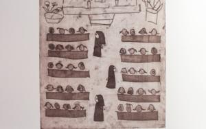 La iglesia|Obra gráficadeAna Valenciano| Compra arte en Flecha.es