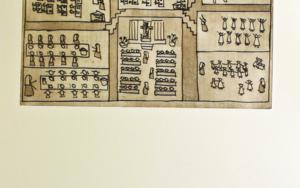 El plano del colegio|Obra gráficadeAna Valenciano| Compra arte en Flecha.es