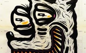 VIOLENTAMENTE FELIZ|DibujodeVicente Aguado| Compra arte en Flecha.es