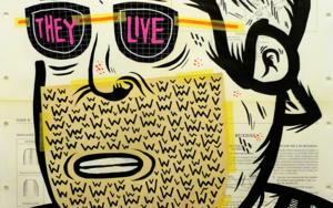 THEY LIVE|CollagedeVicente Aguado| Compra arte en Flecha.es