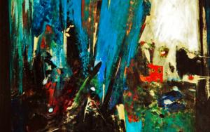 La puerta del infinito|PinturadeLika Shkhvatsabaia| Compra arte en Flecha.es