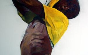 El campeón|PinturadeJESÚS MANUEL MORENO| Compra arte en Flecha.es