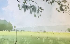 Después de la lluvia|PinturadeIñigo Lizarraga| Compra arte en Flecha.es