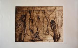 3 Desgraciadas|Obra gráficadeDavid Rojas| Compra arte en Flecha.es