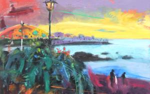 Paraíso 1 ( Punta Brava, Puerto de la Cruz ) PinturadeBenito Salmerón  Compra arte en Flecha.es