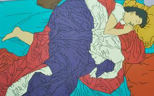 La Vera|PinturadeCova Mejía| Compra arte en Flecha.es