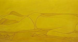 Ocre amarillo PinturadeCova Mejía  Compra arte en Flecha.es