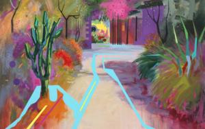 Paisaje Re-leido Nº2|PinturadeBenito Salmerón| Compra arte en Flecha.es