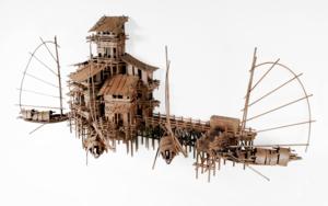 ALDEAS FLOTANTES VI|EsculturadeFernando Suárez| Compra arte en Flecha.es