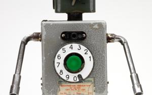 Telefonicus|EsculturadePitarque Robots| Compra arte en Flecha.es