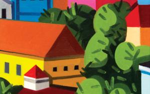 Pequeño paisaje 4|PinturadeJuan de la Rica| Compra arte en Flecha.es