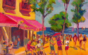 Cervezas y naranjadas|PinturadeJosé Bautista| Compra arte en Flecha.es
