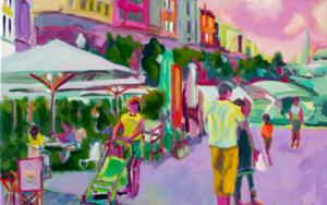 Salsa de cangrejo|PinturadeJosé Bautista| Compra arte en Flecha.es