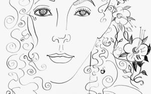 Ninfa 3|DibujodeOuka Leele| Compra arte en Flecha.es