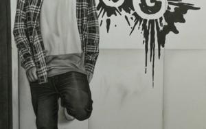 Equilibrio|DibujodeJose Díaz Ruano| Compra arte en Flecha.es