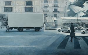 Ficción Urbana I|PinturadeErick Miraval| Compra arte en Flecha.es