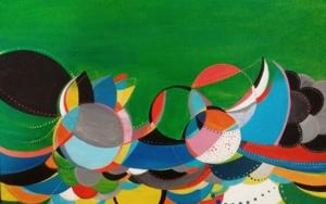 Vida verde|PinturadeANALIA MALOSETTI| Compra arte en Flecha.es
