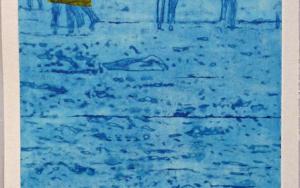 El mar. Verano|Obra gráficadeAna Valenciano| Compra arte en Flecha.es