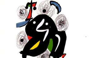LA MELODÍA ÁCIDA (IV) 1215|Obra gráficadeJoan Miró| Compra arte en Flecha.es