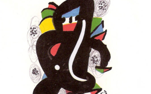 LA MELODÍA ÁCIDA (VI) 1217|Obra gráficadeJoan Miró| Compra arte en Flecha.es