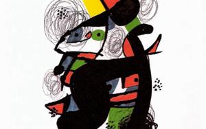 LA MELODÍA ÁCIDA (XI) 1222|Obra gráficadeJoan Miró| Compra arte en Flecha.es