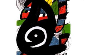 LA MELODÍA ÁCIDA (XIV) 1225|Obra gráficadeJoan Miró| Compra arte en Flecha.es