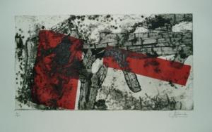 Sueño torero II|Obra gráficadeCarmina Palencia| Compra arte en Flecha.es