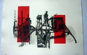 El paso del tiempo|Obra gráficadeCarmina Palencia| Compra arte en Flecha.es