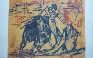 TaurinoV|Obra gráficadeCarmina Palencia| Compra arte en Flecha.es