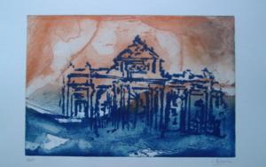 Puerta de Alcalá|Obra gráficadeCarmina Palencia| Compra arte en Flecha.es