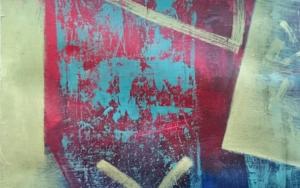 S / T  Serie: TEXTURAS DE COLOR    REF. 126|PinturadePatxo  Cruceta| Compra arte en Flecha.es