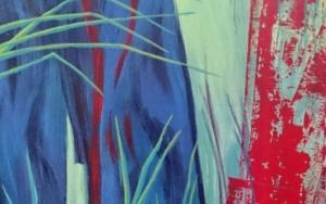S/T Serie Textura de Color Ref. 132|PinturadePatxo  Cruceta| Compra arte en Flecha.es